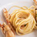 Spaghetti agli scampi - Ristorante Hotel Park Imperial